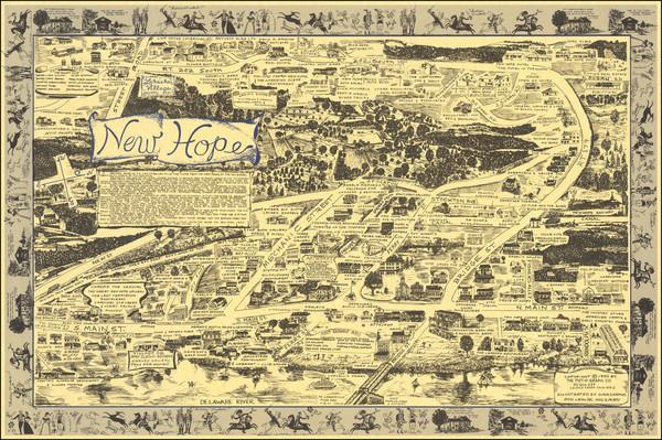 79-Pennsylvania and Pictorial Maps Map By Gina Shamus / Leslie Holzman
