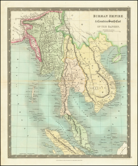 26-Southeast Asia, Indonesia and Malaysia Map By Henry Teesdale