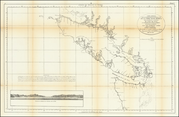 50-Pacific Northwest and British Columbia Map By United States GPO