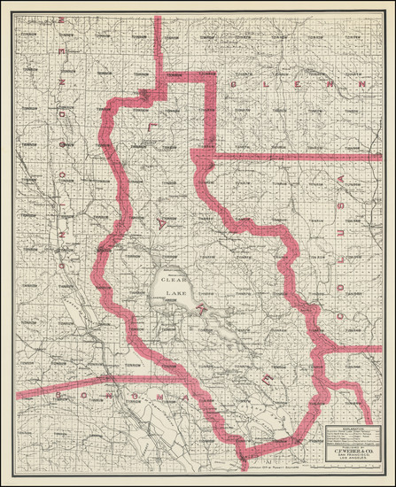 5-California Map By Punnett Brothers