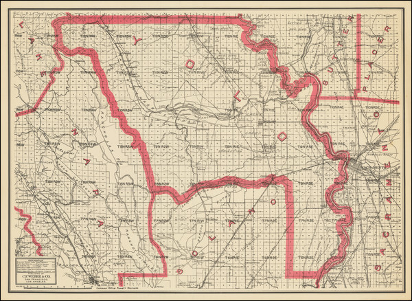 93-California Map By Punnett Brothers