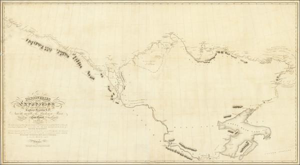 68-Polar Maps and Western Canada Map By Sir John Franklin