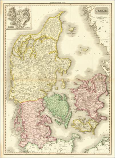 49-Denmark Map By John Pinkerton
