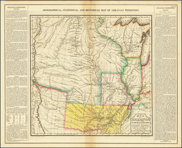 9-Arkansas, Texas, Midwest, Plains, Missouri, Southwest and Rocky Mountains Map By Henry Charles