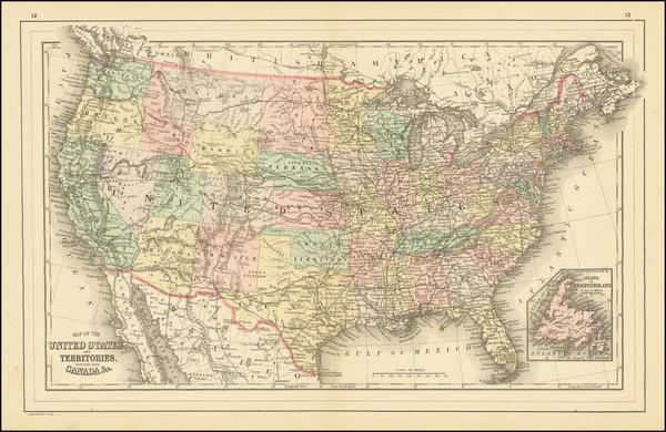 39-United States Map By William Bradley