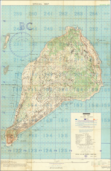 12-Japan, Other Pacific Islands and World War II Map By Intelligence Section, Amphibious Forces Pa