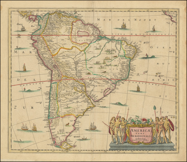 95-South America Map By Jan Jansson