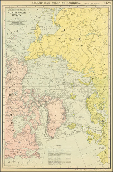 46-Polar Maps Map By William Rand  &  Andrew McNally