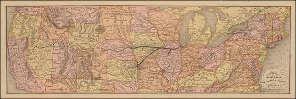 42-United States Map By Rand McNally & Company