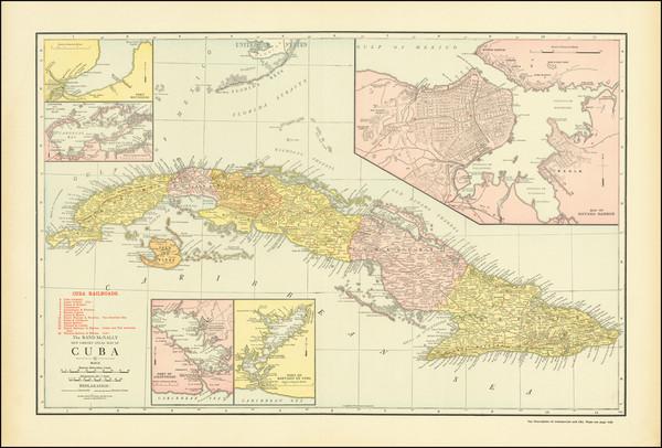 15-Cuba Map By Rand McNally & Company