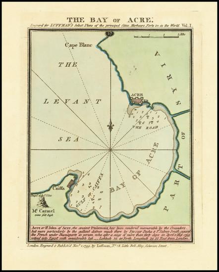 80-Holy Land Map By John Luffman
