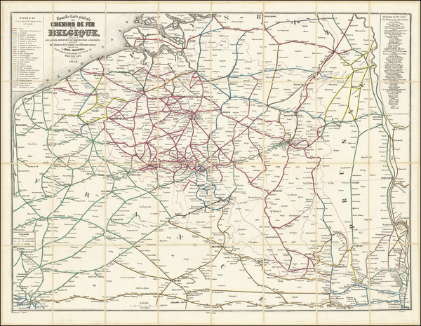 51-Belgium Map By L Mols-Marchal