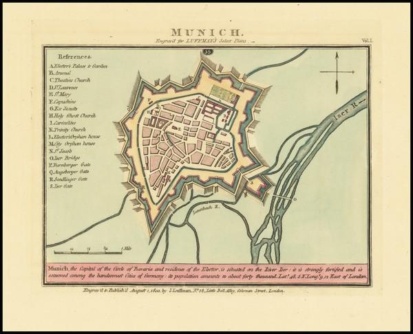 19-German Cities Map By John Luffman
