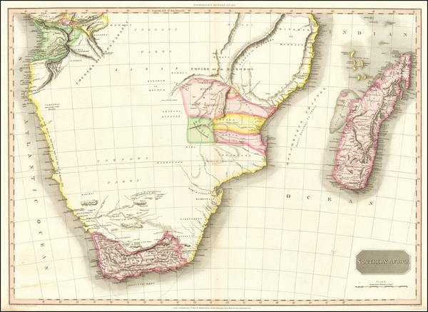 5-South Africa Map By John Pinkerton