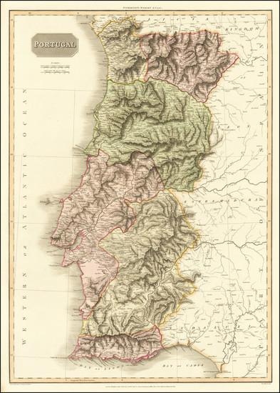 59-Portugal Map By John Pinkerton