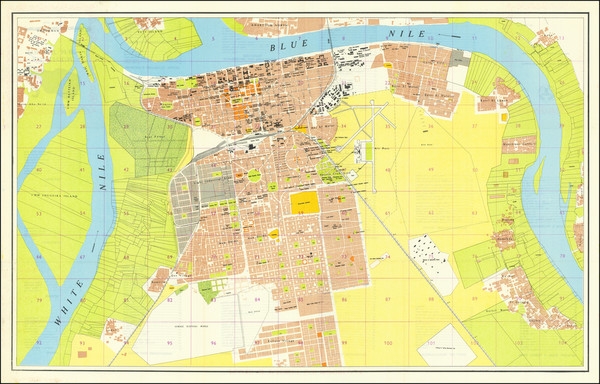 79-North Africa Map By Survey Department, Ministry of Mineral Resources (Khartoum)