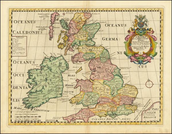 33-British Isles Map By Edward Wells