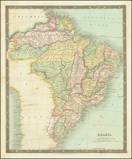 4-Brazil Map By Henry Teesdale
