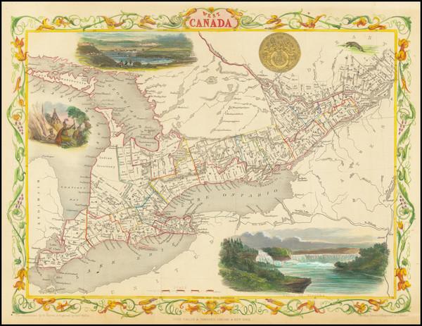 34-Midwest Map By John Tallis