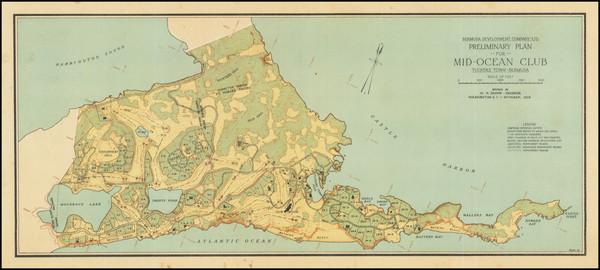 91-Bermuda Map By Bermuda Development Company