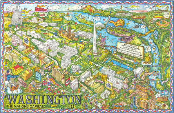 7-Washington, D.C. Map By Trans Continental Cartographers / Penthouse Studios