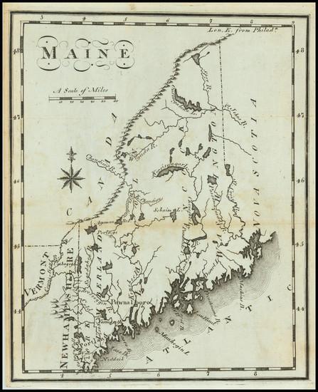 64-Maine Map By Joseph Scott