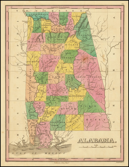 40-Alabama Map By Anthony Finley