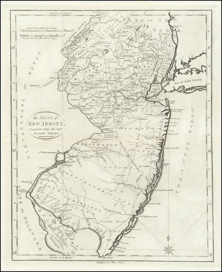 98-New Jersey Map By John Reid