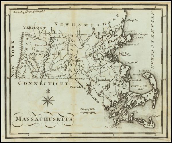 78-Massachusetts Map By Joseph Scott