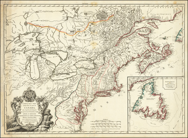 22-Mid-Atlantic, Midwest, Michigan and Canada Map By