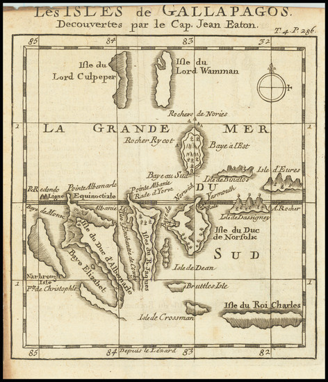 65-Peru & Ecuador Map By William Dampier