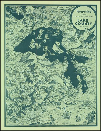 95-California Map By Lee Fidge