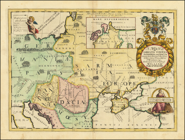 96-Germany, Poland, Russia and Ukraine Map By Edward Wells