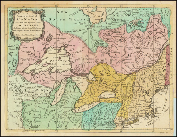 31-New England, New York State, Midwest, American Revolution and Canada Map By Universal Magazine
