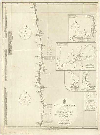 29-Peru & Ecuador Map By British Admiralty