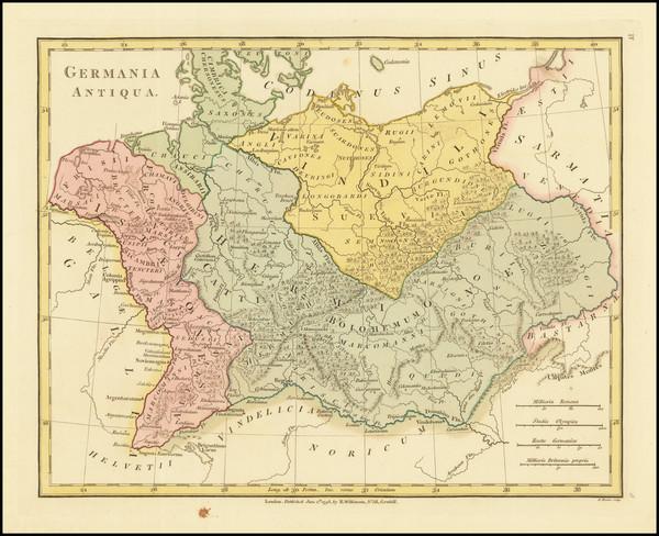 67-Germany Map By Robert Wilkinson