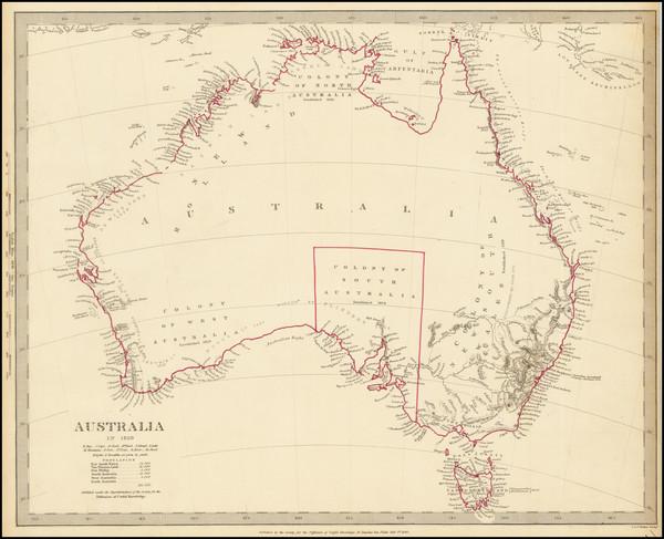93-Australia Map By SDUK
