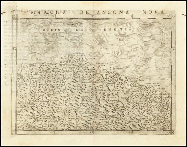 10-Northern Italy Map By Giacomo Gastaldi