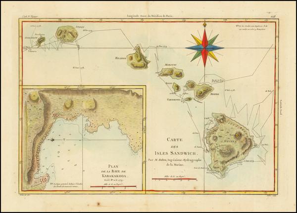 77-Hawaii and Hawaii Map By Rigobert Bonne