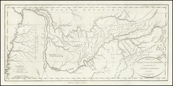 41-South, Tennessee and Southeast Map By John Reid
