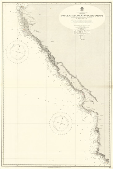 31-California Map By British Admiralty