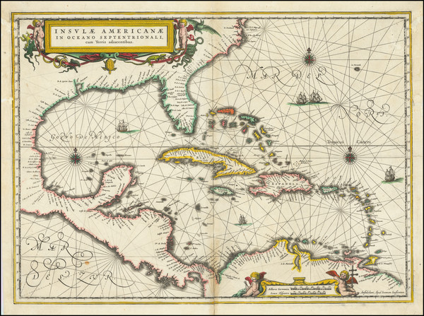 20-South, Southeast, Caribbean and Central America Map By Jan Jansson