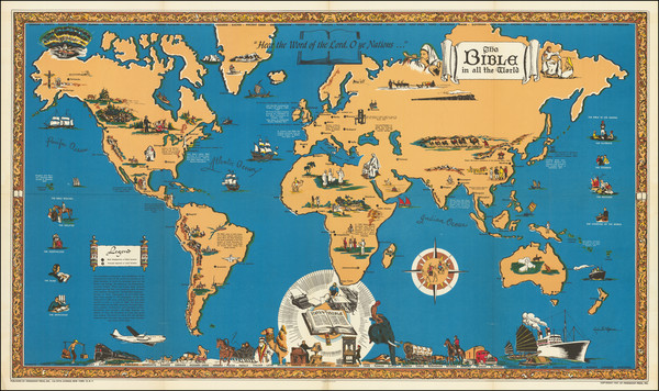 2-United States and Pictorial Maps Map By Louise E. Jefferson