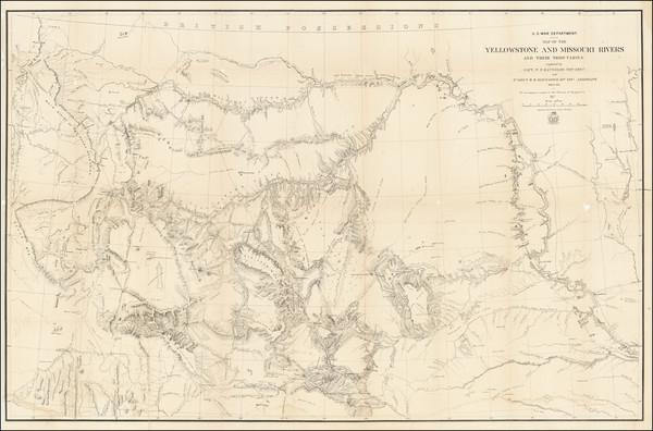 69-Plains, Nebraska, North Dakota, South Dakota, Rocky Mountains, Idaho, Montana and Wyoming Map B