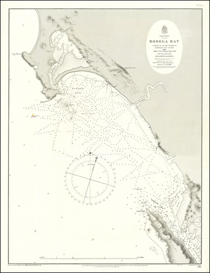 63-California Map By U.S. Coast Survey