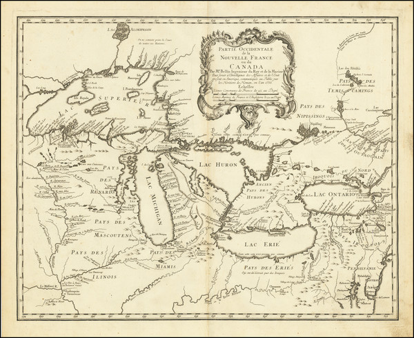 84-Midwest, Illinois, Indiana, Ohio, Michigan, Wisconsin and Western Canada Map By Homann Heirs /