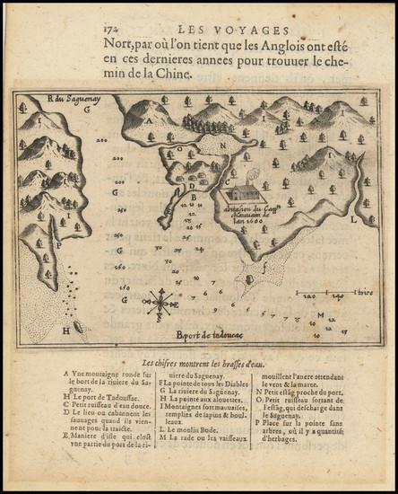 6-Eastern Canada Map By Samuel de Champlain