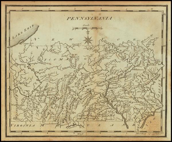 47-Pennsylvania Map By Joseph Scott