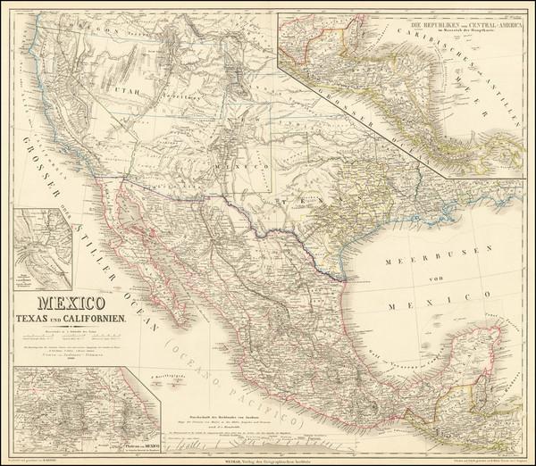 38-Texas, Plains, Southwest, Rocky Mountains, Mexico, Baja California, Central America and Califor