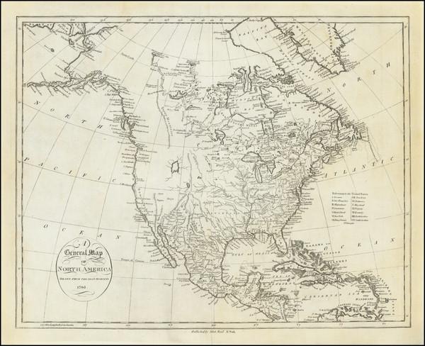 66-North America Map By John Reid